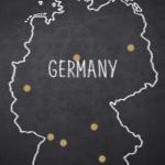 Übersicht der Wohnorte der buchbaren männlichen Begleiter für Frauen in Deutschland.